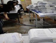 Documentos se perderam na água