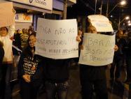 Ato público contra a mudança de regime - ago/13