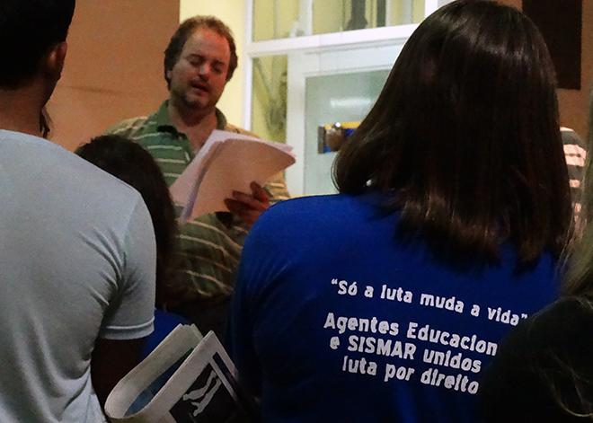 O resultado do levantamento dos AEs de cada CER e EMEF de Araraquara será unificado e documentado no dia 22 de abril, em assembleia específica.